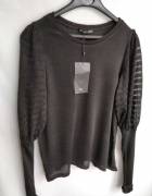 Sweter czarny Zara S