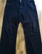 Męskie spodnie czarne jeasny dżinsy XL