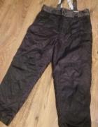 Spodnie na motor ocieplacz XL