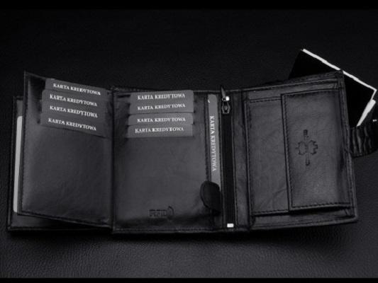 1b835f727a825 Skórzany portfel męski Kochmanski RFID dzień ojca w Portfele - Szafa.pl