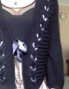 elegancki ciekawy sweter HM r xs