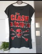 Amplified koszulka The Clash rock czaszka napisy