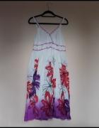 Just Elegance sukienka kwiaty 44