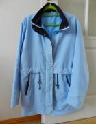 Błękitna kurtka parka XL...