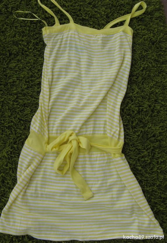 sukienka w paski Pimkie...