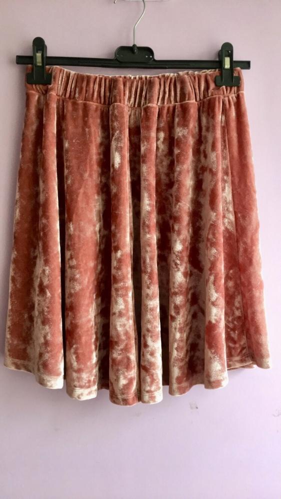 Spódnice Welurowa spódnica