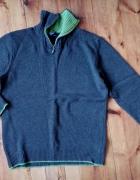 Wełniany sweter L