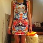 H&M sukienka floral 36 s