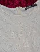 biała sukienka troll...