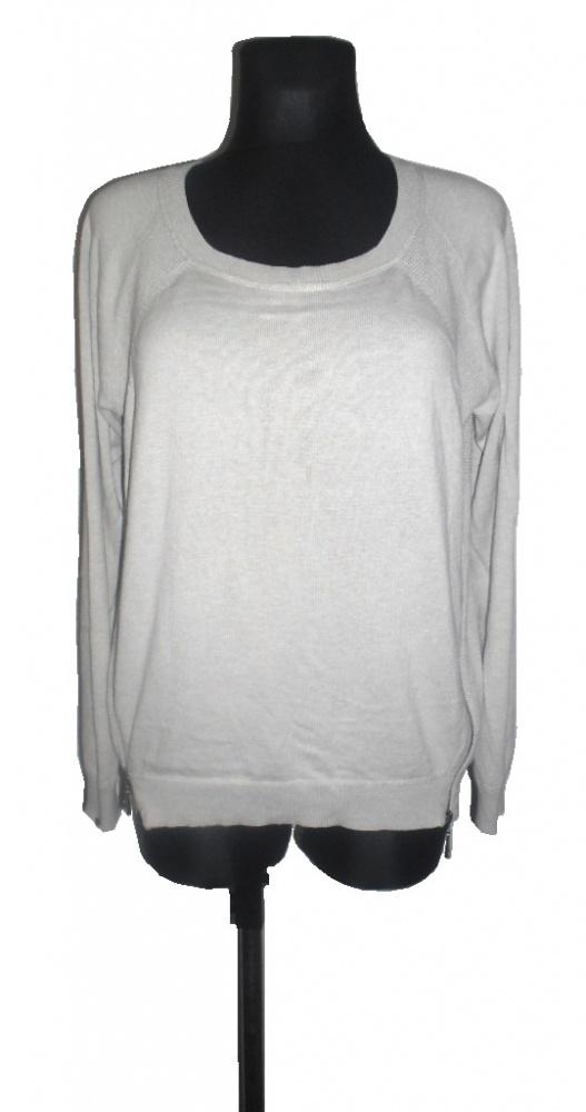 ESPRIT beżowy sweter z zameczkami 38 40...