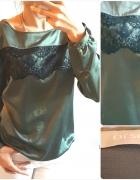 Orsay elegancka bluzka z koronką roz M...