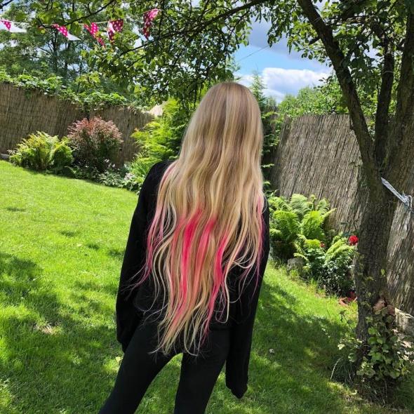 Fryzury pinklover