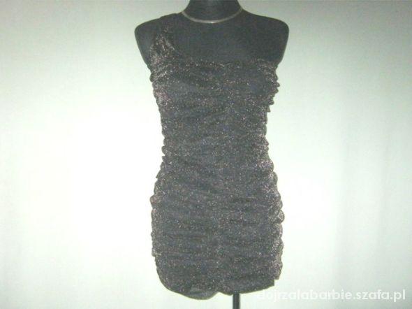 sukienka asymetryczna drapowana 8...