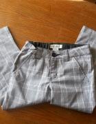 Spodnie 122 eleganckie Rybaczki w kratkę Cherokee...