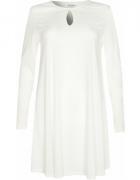 Glamorous luźna kremowa sukienka roz M...