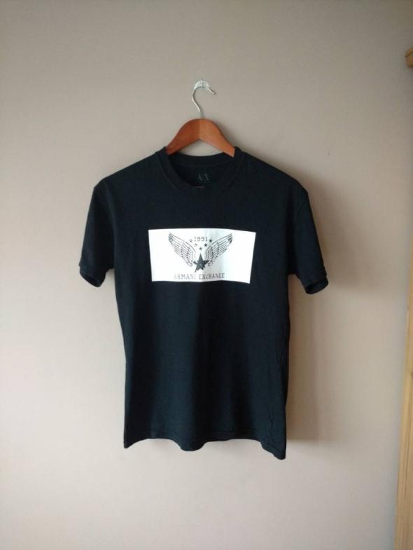 Koszulka Armani oryginalna z nadrukiem...