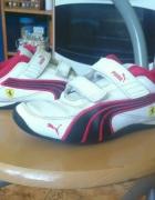Buty Pumy 33 biało czerwone...