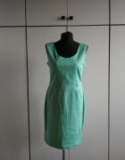 Miętowa sukienka Top Secret...