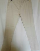 NOWE Bezowe spodnie rozmiar 38 M Tex Women