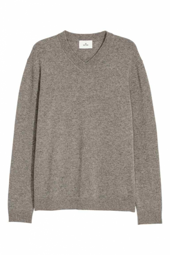 Kaszmirowy sweter beżowy...