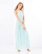Mohito niebieska miętowa długa sukienka Celebration XS 34...