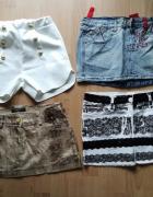 Spódniczki mini jeans...
