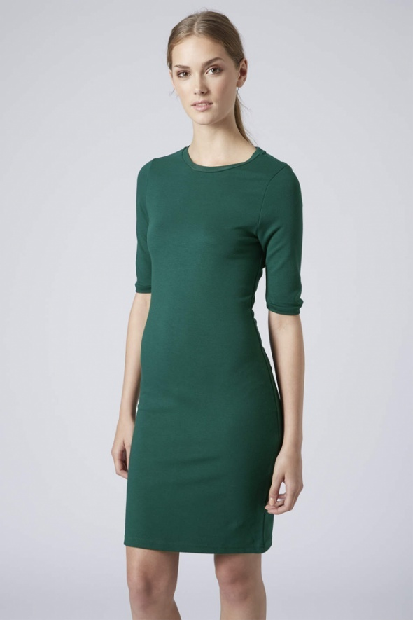 Zielona sukienka bodycon Topshop...