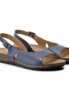 Niebieskie sandały Lasocki...