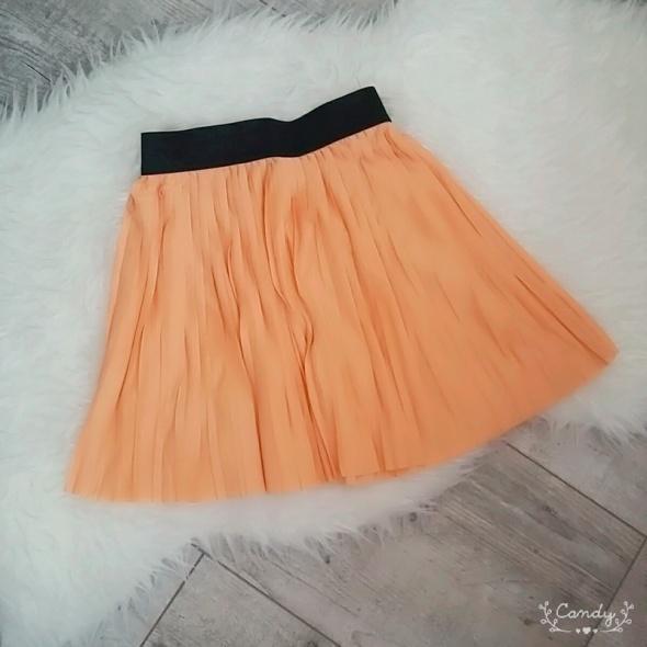 Nowa pomarańczowa spódnica na gumce