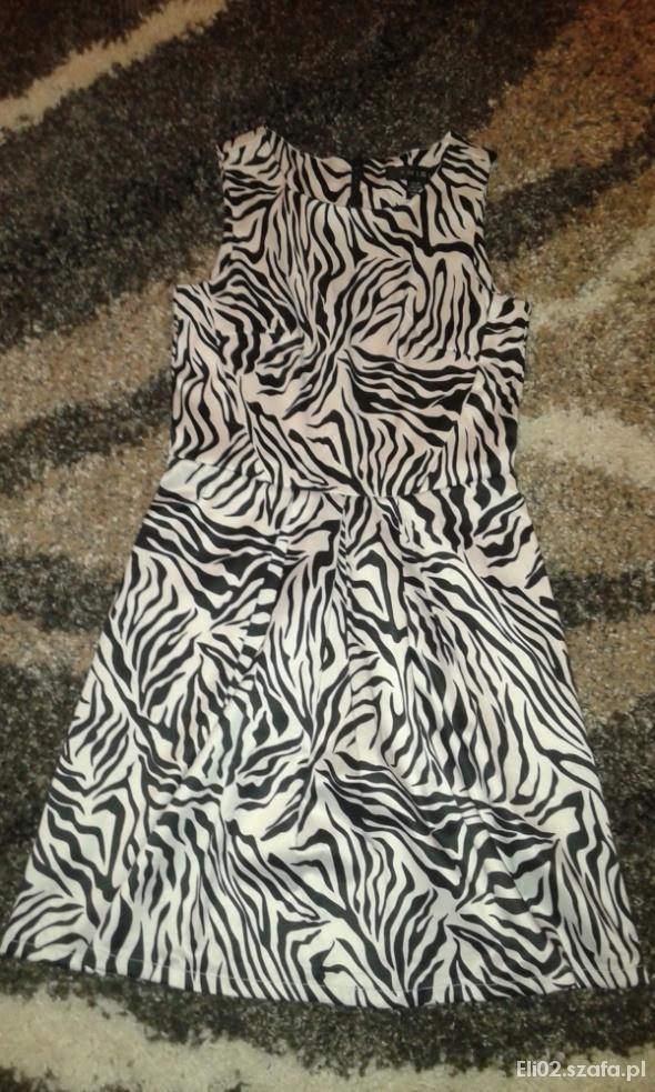 sukienka ala zebra