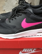 nike air max thea gs black hyper pink white 375