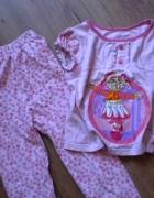 piżama 104 110 różowa