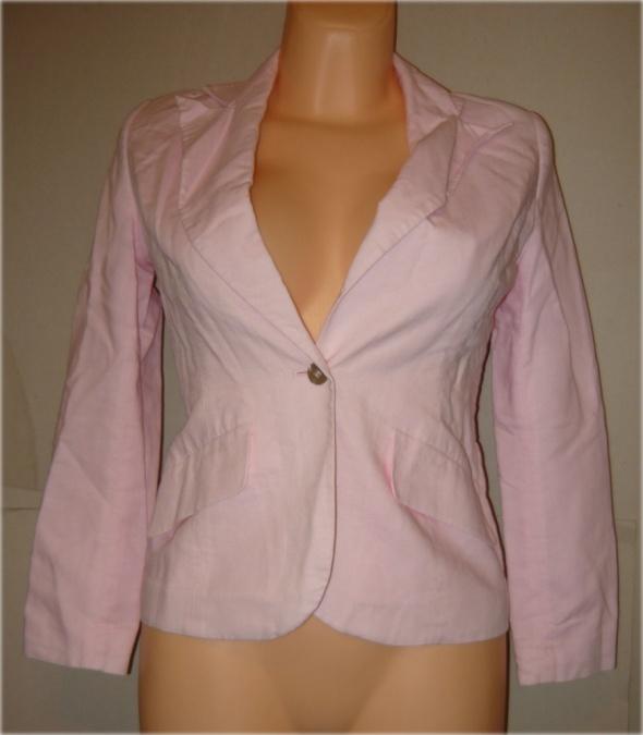 Next żakiet różowy elegancki cudny 34 36
