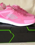 Nowe różowe adidasy buty sportowe Umbro Vento Hot Pink Silver 4...