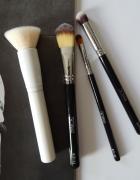 ECOntour i Beauty Crew zestaw 4 pędzli do podkładu i korektora makeup brushes