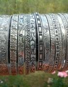 Stare srebrne kółka rytosztuka warmet imago