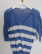 Oasis marynarski sweterek M...