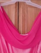 malinowa sukienka 40