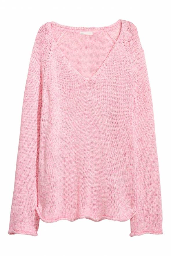 Swetry Sweter H&M różowy