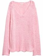 Sweter H&M różowy