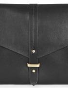 Czarna klasyczna kopertówka Top Shop...