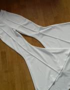Missguided efektowne spodnie FALBANKI roz 32