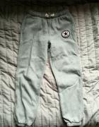 Szare spodnie dresowe dresy Converse