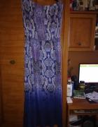 Debenhams dzianinowa maxi sukienka dla puszystej 44 46...