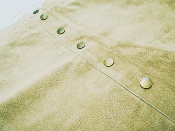 Spódnice Mini spódniczka skórzana skóra naturalna