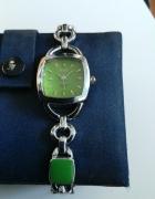 zegarek na bransolecie kolorowej