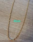 Łańcuszek ze stali chirurgicznej 45 cm...