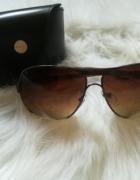 okulary pilotki Mohito sepia