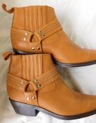 RH Brand kowbojki buty męskie 42 skóra