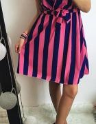 Sukienka Damsk w paski M